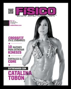Catalina Bobón portada revista físico mas en www.revistafisico.com