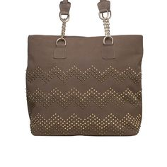 I love the Lionel Kylie Studded Tote from LittleBlackBag