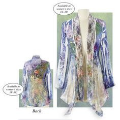 Just so pretty....  Garden Lace Jacket - Gifts & Accessories at Catalog Favorites @  http://www.catalogfavorites.com/itemdy00.asp?T1=P82260%20S=Garden%20Lace%20Jacket#