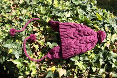 I ♥ cables #hat #free #pattern #knitting