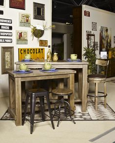 Signature Design By Ashley Pinnadel Pinnadel   Grayish Brown Dining Room  Bar Table ,, Grayish Brown   Big Sandy Superstores