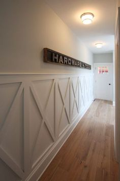 """View this Great Space by JPS Construction and Design. Discover & browse thousands of other home design ideas on Zillow Digs. Dining Room Wainscoting, Wainscoting Ideas, Rustic Wainscoting, Wall Design, House Design, Wall Trim, Wall Treatments, Home Projects, Home Remodeling"