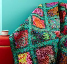 Kaffe Fassett Inspired Quilt Love This Quilt
