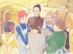Wait, Isao Takahata's Anne of Green Gables anime series was dubbed into English? Yoshifumi Kondo, Studio Ghibli Poster, Anne Auf Green Gables, Teen Web, Anne Green, Isao Takahata, Film Anime, The Cat Returns, Anne Shirley