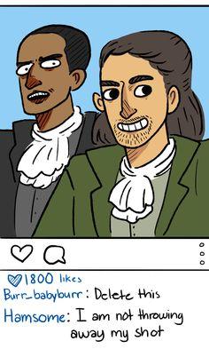 Hamilton's Instagram
