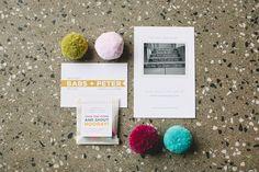 Bash, please: clean, cute invites