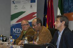 Juan José Téllez con Omar el-Hartiti y Said Bentrika.