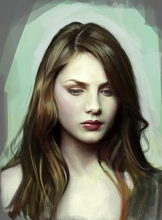 Rachel Hurd-Wood photo study, Kim I on ArtStation at https://www.artstation.com/artwork/rachel-hurd-wood-photo-study