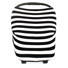 This multi-use cover can be used as a car seat cover, nursing cover, or a shopping cart cover. The stretchy, soft and modern fabric is great for all season use