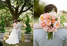 Marvelous 29 Best Wedding Bouquet : Blush Pink and Ivory Garden Rose Dahlia and Peony Wedding Bouquet Ideas http://www.weddingtopia.co/2017/12/04/29-best-wedding-bouquet-blush-pink-ivory-garden-rose-dahlia-peony-wedding-bouquet-ideas/ The flowers are helpful for dyeing cloth. They are very pretty but with the wrong hands, its beauty can easily be put to waste. Ordering fresh wedding flowers...
