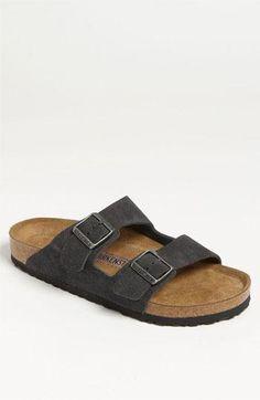 Kick around in some Birkenstock sandals