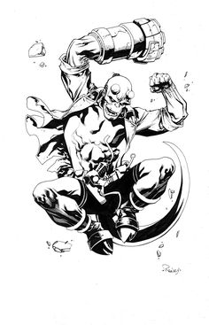 Hellboy by TomRaney.deviantart.com on @deviantART