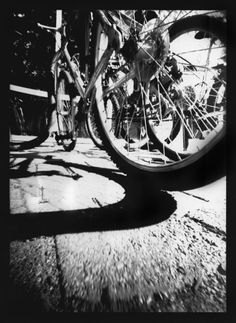 I also really love black and white film photography. This is an image I took using a homemade pinhole camera which was essentially just a small black (light tight) box. I am completely fascinated by pinhole photography!
