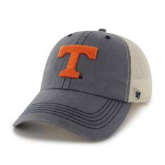 Tennessee Vols Washed Navy Fitted Hat