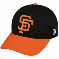 MLB Cooperstown YOUTH San Francisco GIANTS Orng/Black Hat Cap Adjustable Velcro TWILL Throwback by Team MLB OC Sports Outdoor Cap Co.. $9.35. We are your team supplier with team qtys available.  This our most popular style cap with a retail tag of $21.99 you can purchase for your team at a fraction of the price. -Available in Youth(6- 12yrs) -Newest Style and Design -6 Panel Twill Construction -Raised 3-D Logo on Front -MLB Logo on side -Adjustable