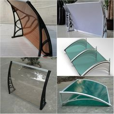 Polycarbonate sheet awning for bus staion roof skylight #Awnings #Canopy #Polycarbonate #pc