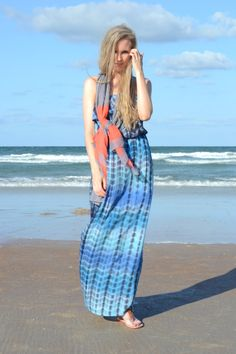 #blogger Lacy Rose in a Deb Shops #maxi #dress and #scarf