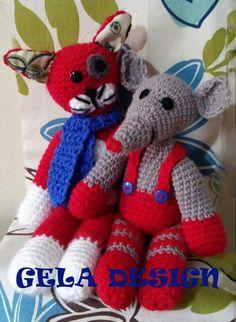Gato rojo y ratón