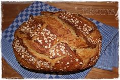 Six grain dream - Thermomix_Brot & Co. Pampered Chef, Fritters, Cornbread, Bread Recipes, Waffles, Grains, Good Food, Healthy Recipes, Baking