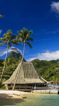 Tahiti, French Polynesia...most beautiful sky on earth