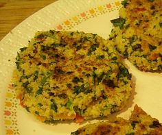 Actually tried the sweet potato and kale burgers with lentils linked on this blog - I tweaked it just a little by subbing chickpeas for lentils.   I really enjoyed this meal!