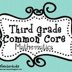 This Common Core Standards Checklist for Mathematics is unique in that it contains the teacher objective and kid friendly language. I created this ...
