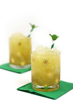 Sip on this smooth, ice-filled Irish Whiskey Honey Mint Julep made with local wildflower honey, Irish whiskey and fresh mint. From St. Patrick's Day to the Kentucky Derby, it's a sweet toast to springtime. from @feastandwest