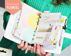 Personalizing Your Color Crush Planner with Laura Funk - Join the planner craze! Enroll for FREE in this fun class with Webster's Pages Laura Funk to personalize and beautify your planner!