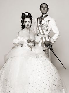 Chanel's new film starring Cara Delevingne and Pharrell Williams by Karl Lagerfeld
