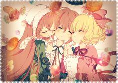 rozen maiden, suiseiseki, souseiseki, hinaichgo by rushu