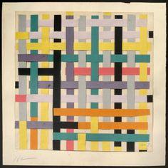 Ortogonal (Collage) 10,1952 Alejandro Otero