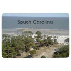#South Carolina Beach Floor Mat - #beach #travel #beachlife