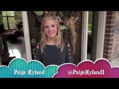 Paige Hyland-Official YouTube PROMO - YouTube