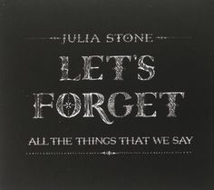 Let's Forget All the Things That We Say EMI Import http://www.amazon.com/dp/B007K71VOA/ref=cm_sw_r_pi_dp_hJClub16Q51FP