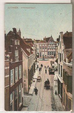 Sprongstraat Zutphen 28 okt. 1908