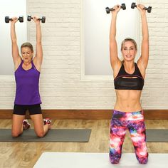 A 20-minute scorch session that works every muscle in your body. You will have tons of fun while blasting calories with this workout.