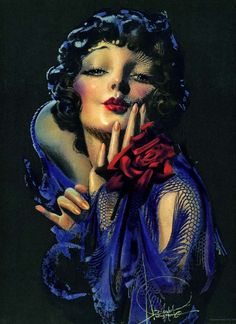 vintagerosegarden:    wickeddollxo:    myvintagevogue:    1920's By Rolf Armstrong