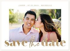Save the Date Cards - Glitterati Save The Date Photos, Save The Date Cards, Romance Comics, Wedding Sparklers, Card Sizes, Getting To Know, Photo Cards, Your Cards, Wedding Cards
