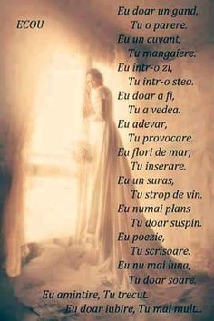 Linistea mintii added a new photo. My Love Poems, True Words, Ten, Me Quotes, Spirituality, Faith, Celebrities, Amazing, Bible