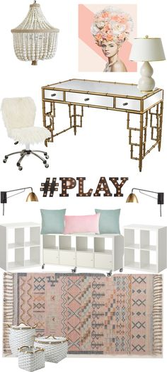 Mood Board Monday: Our Office + Playroom Makeover! - Style Your Senses