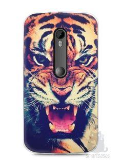 Capa Moto G3 Tigre Feroz - SmartCases - Acessórios para celulares e tablets :)
