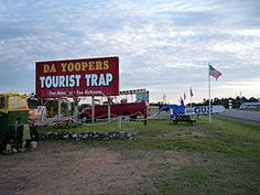 Da Yoopers in UP of Michigan. Hahah I remember this place. So great!