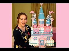 """A beautiful castle made by decorating a box of diapers! You will enjoy making your own castle by following these easy """"how to"""" directions and everyone at the baby shower will adore it! SUPPLY LIST: •solid colored wrapping paper •1/4"""" foam poster board or you can use cardboard •solid colored decorative paper •cardboard box of diapers, 96 count •1..."""