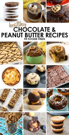 Healthy Chocolate Peanut Butter Recipes - Fit Foodie Finds