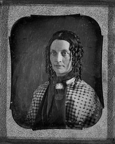 Mrs. Lucian Barbour.  Taken in 1840.