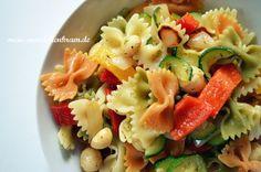 Mädchenkram: Warmer Gemüse-Pasta-Salat {Rezept}