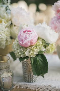 hydrangeas and peonies  Photography By / http://amyandstuart.com,Coordination By / http://pryorevents.com