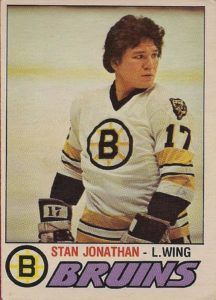 Stan Jonathan: Spark Plug Of The Late '70's Boston Bruins