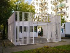 MEZZE Ogródek - pop up restaurant