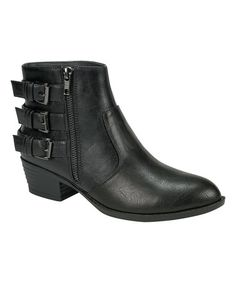 Loving this Black Chelsea Ankle Boot on #zulily! #zulilyfinds
